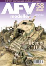 48899 - AFV Modeller,  - AFV Modeller 058. Desert Hulk