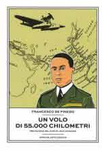 48996 - De Pinedo, F. - Volo di 55.000 chilometri (Un)