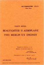 49298 - Air Ministry,  - Pilot's Notes: Bristol Beaufighter II