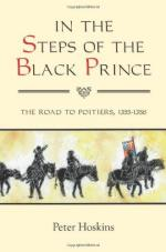 49888 - Hoskins, P. - In the Steps of the Black Prince. The Road to Poitiers 1355-1356