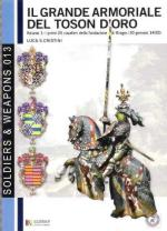 50221 - Cristini, L.S. - Ordine del Toson d'Oro Vol 1. I primi 25 cavalieri del Capitolo di Bruges 1430