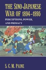 50576 - Paine, S.C.M. - Sino-Japanese War of 1894-1895. Perception, Power, and Primacy (The)