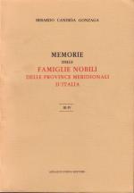 50585 - Candida Gonzaga, B. - Memorie delle famiglie nobili delle province meridionali d'Italia 3 Voll