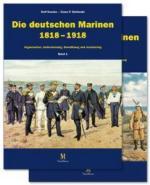 50718 - Noeske-Stefanski, R.-C.P. - Deutschen Marinen 1818-1918 (Die) - Cofanetto 2 Voll