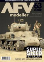51056 - AFV Modeller,  - AFV Modeller 063. Super Sized Sherman