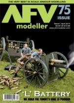 51103 - AFV Modeller,  - AFV Modeller 075. 'L' Battery. We build the Tommy's War 13 Pounder