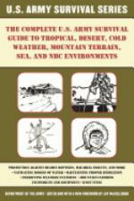 51330 - US Department of the Army,  - Complete US Army Survival Guide to Tropical, Desert, Cold Weather, Mountain Terrain, Sea, and NBC EnvironmentsUS Army Survival Manual