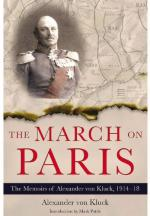 51406 - von Kluck, A. - March on Paris. Memoirs of Alexander von Kluck 1914-1918 (The)