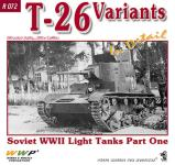51704 - Baric-Collins, M.-M. - Special Museum 72: T-26 Variants in detail. Soviet WWII Light Tanks Part 1
