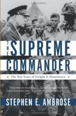 51795 - Ambrose, S.E. - Supreme Commander. The War Years of Dwight D. Eisenhower