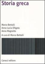 51889 - Bettalli-D'Agata-Magnetto, M.-A.L.-A. - Storia greca
