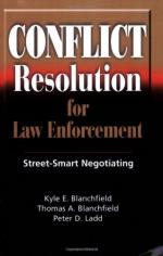 52561 - Blanchfield-Blanchfield-Ladd, K.E.-T.A.-P.D. - Conflict Resolution for Law Enforcement. Street-Smart Negotiating