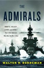 52719 - Borneman, W.R. - CHECK NEW ED Admirals. Nimitz, Halsey, Leahy, and King. The Five-Star Admirals who won the War at Sea (The)