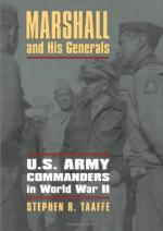 52727 - Taaffe, S.R. - Marshall and His Generals. US Army Commanders in WWII