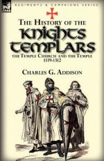 52961 - Addison, C.G. - History of the Knights Templars, the Temple Church, and the Temple 1119-1312 (The)