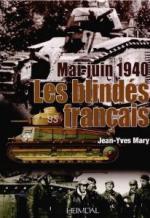 53787 - Mary, J.Y. - Mai-Juin 1940. Les blindes francais