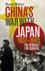 54782 - Mitter, R. - China's War with Japan 1937-1945. The Struggle for Survival