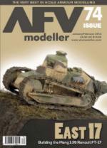 55040 - AFV Modeller,  - AFV Modeller 074. East 17