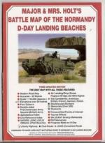 55704 - AAVV,  - Cartina: Major and Mrs. Holt' Battle Map of the Normandy D-Day Landing Beaches