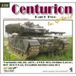 55849 - de Boer-Koran-Prigent, J.W.-F.-J. - Present Vehicle 36: Centurion in detail Part Two: Variants Mk.12, ARV, AVRE-165, Bridge Layer, IDF Shot Kal, Swedish Stridsvagn 104