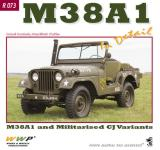 55852 - Doubrek-Koran, L.F. - Special Museum 73: M38A1. M38A1 and Militarised CJ Variants
