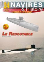 55887 - Druel, J. - HS Navires&Histoire 24: Le Redoutable 3D Premier sous-marin nucleaire francais