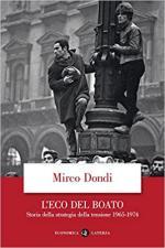56122 - Dondi, M. - Eco del boato. Storia della strategia della tensione 1965-1974 (L')