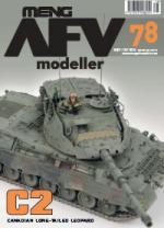 56623 - AFV Modeller,  - AFV Modeller 078. C2 Canadian long-tailed Leopard
