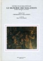 56958 - Bianchi, M.T. cur - Croniche de' Malatesti - Le signorie dei Malatesti 03