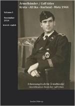 57411 - Ulderup, S. - Aermelbaende / Cuff titles Vol 1: Kreta - Afrika - Kurland - Metz 1944