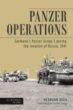 57548 - Hoth, H. - Panzer Operations. Germany's Panzer Group 3 During the Invasion of Russia 1941