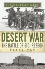 57975 - Cox, P. - Desert War. The Battle of Sidi Rezegh - ANZAC Battle Series