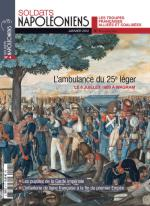 58067 - Soldats Napoleoniens,  - Soldats Napoleoniens (nouv. serie) 04. L'ambulance du 25e leger