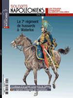 58068 - Soldats Napoleoniens,  - Soldats Napoleoniens (nouv. serie) 05 Le 7e Regiment de Hussards a Waterloo.