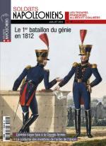 58073 - Soldats Napoleoniens,  - Soldats Napoleoniens (nouv. serie) 10 Le 1er bataillon du genie en 1812