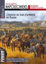 58074 - Soldats Napoleoniens,  - Soldats Napoleoniens (nouv. serie) 11 L'homme du train d'artillerie en Russie.