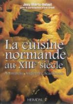 58609 - Marty Dufaut, J. - Cuisine normande medievale. Normandie, Angleterre, Scandinavie (La)