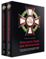 59001 - Ortner-Ludwigstorff, M.-G. - Austrian Orders and Decorations Part 2: The Imperial-Royal Decorations up to 1918 - Cofanetto 2 Voll