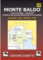 59148 - AAVV,  - Cartina 25: Monte Baldo 1:30.000