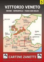 59152 - AAVV,  - Cartina 05 : Vittorio Veneto 1:30.000