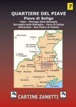 59154 - AAVV,  - Cartina 07 : Quartiere del Piave 1:30.000
