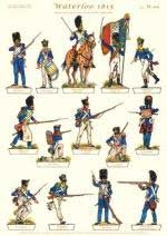 59259 - Gorini, V. - Soldatini di carta - Serie Waterloo 1815