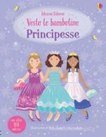 59340 - Watt, F. - Vesto le bamboline Principesse. Con oltre 400 adesivi riutilizzabili