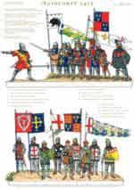 59389 - Gorini, V. - Soldatini di carta - Serie Azincourt 1415