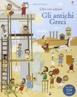 59468 - Watt-Nicholls, F.-P. - Libri con adesivi. Gli Antichi Greci. Con oltre 550 adesivi