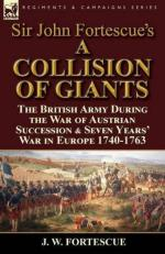 59559 - Fortescue, J. - Collision of Giants. The British Army During the War of Austrian Succession and Seven Years' War in Europe 1740-1763 (A)