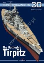 59816 - Draminski, S. - Super Drawings 3D 38: Battleship Tirpitz