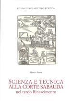 59836 - Frank, M. - Scienza e tecnica alla corte sabauda nel tardo Rinascimento