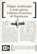 59848 - Ambrosini, F. - Cento giorni. L'ultima avventura di Napoleone (I)