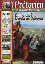 60436 - Pretorien,  - Pretorien 40. La revolte de Civilis et Sabinus